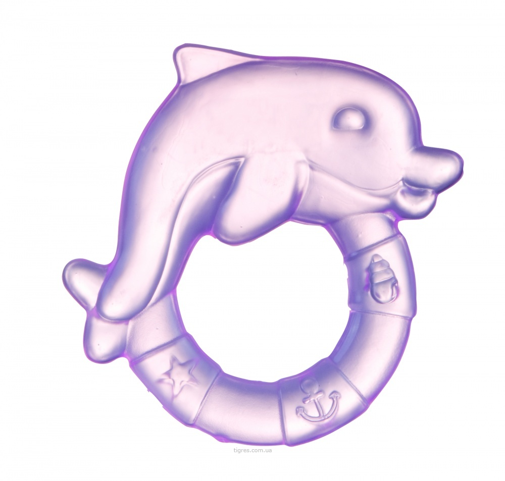 прорезыватель зубов в форме дельфина