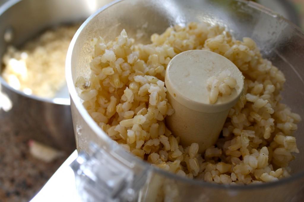 Рис в блендере