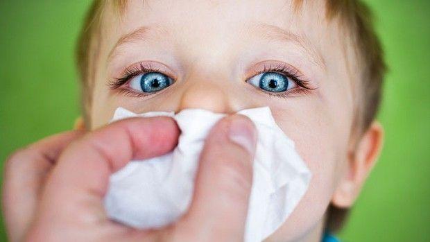 Проявление аллергии у грудничков