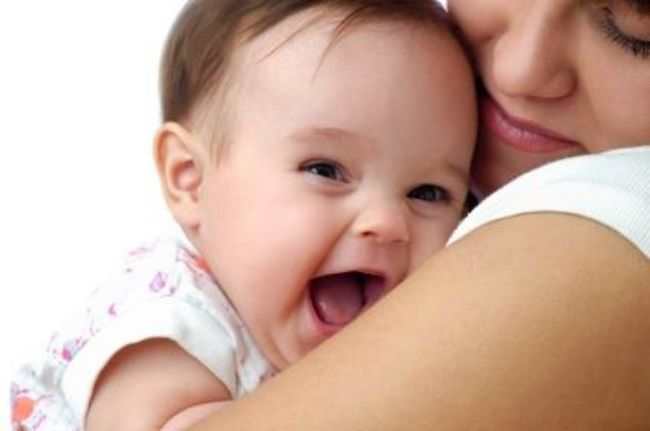 улыбчивый малыш