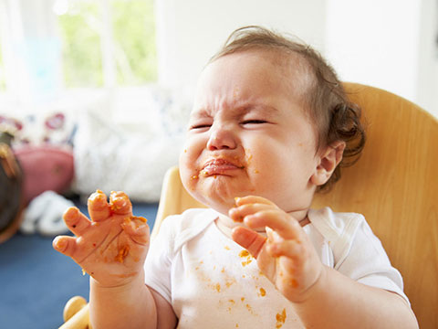 грудничок не хочет есть