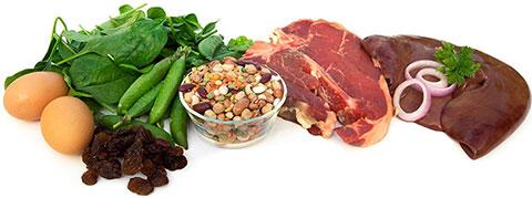 продукты богатые гемоглобином