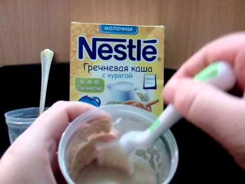 Гречневая каша Нестле: молочная и безмолочная – отличный вариант для начала прикорма малыша: состав, хранение, способ приготовления