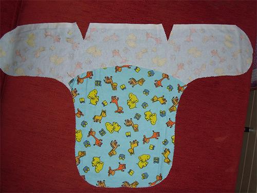 Пеленка для новорожденных размер своими руками 547