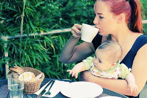 кофе кормящим
