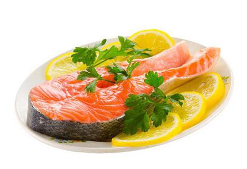лимон к красной рыбе
