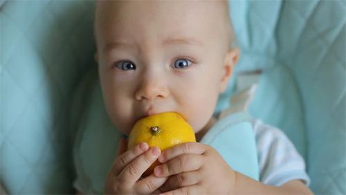 лимон грудничку