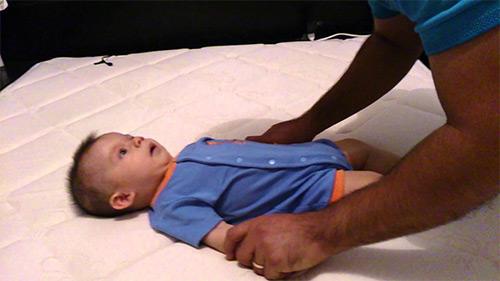 массаж грудничка