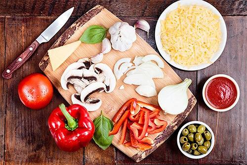 ингредиенты для пиццы