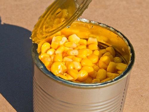 кукуруза желтая