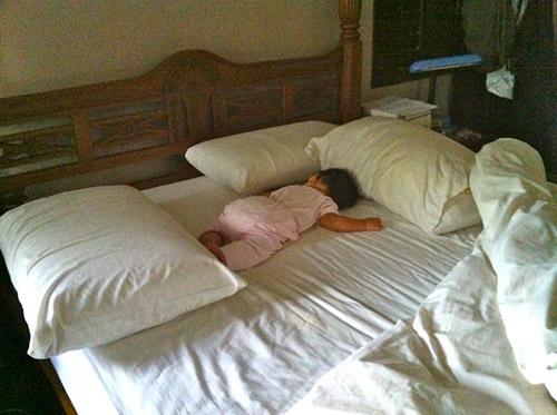 защита от падений с кровати