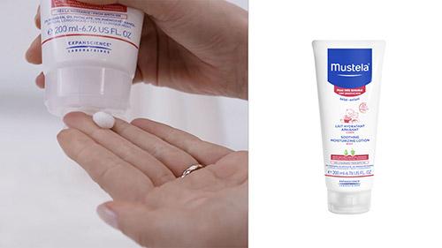 Увлажняющее успокаивающее молочко для тела