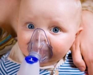 лечение ингалятором малыша