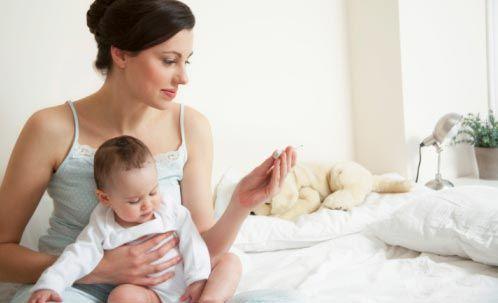 Какая температура считается нормальной у новорожденного ребенка