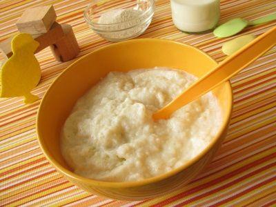 Детская рисовая каша