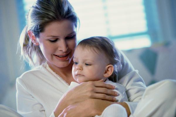 грудничок и мама