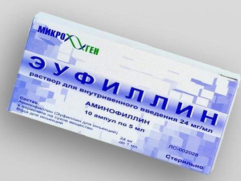 эуфиллин упаковка