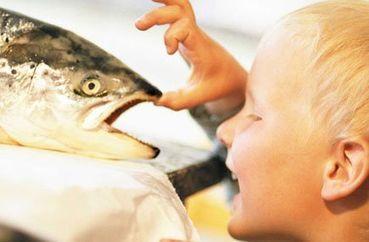 Рыба для грудничка – источник омега 3