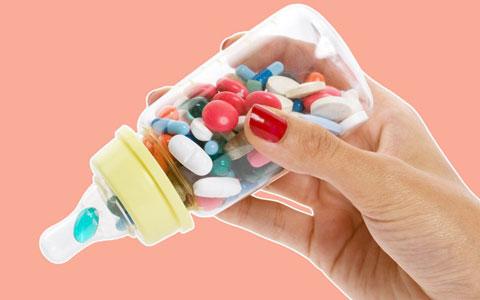 таблетки в бутылочке