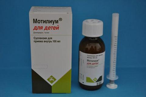 Помогает ли Мотилиум справиться со срыгиванием у грудничка?