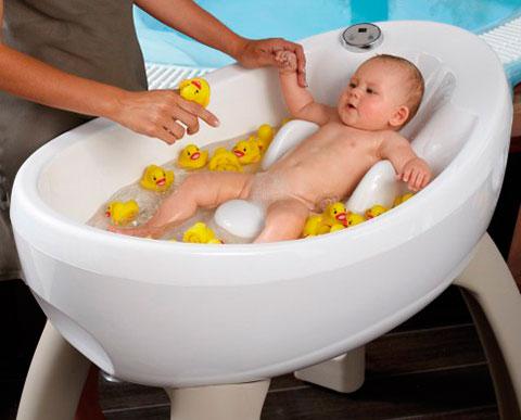 грудничок в ванноче