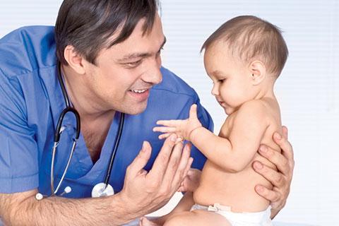 на приеме у детского врача