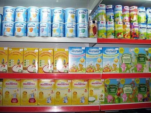 магазинная продукция детских каш