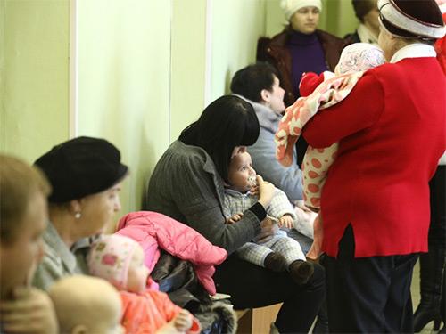 в детской больнице