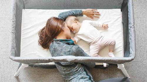 укладываем ребенка спать