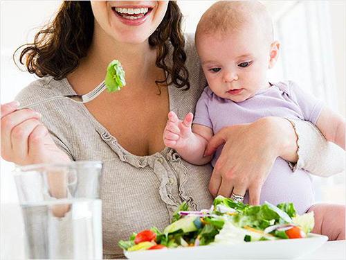 натуральная пища для мам