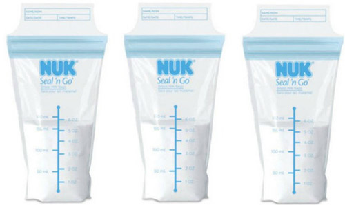 nuk пакет для молока