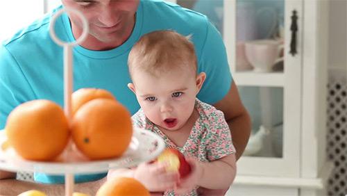 апельсин грудничку
