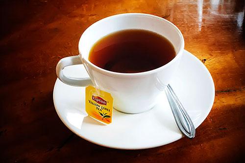 чай в пакетике