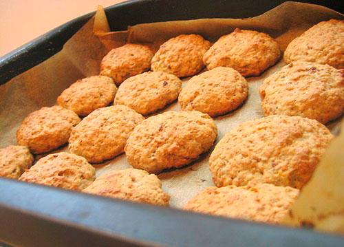 овсяное печенье дома