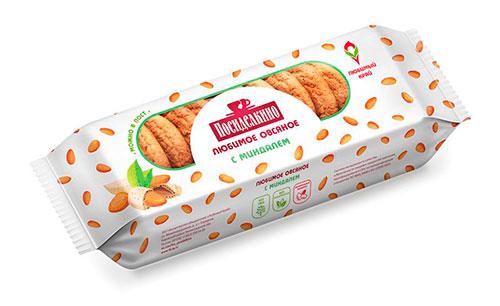 овсяное печенье из магазина