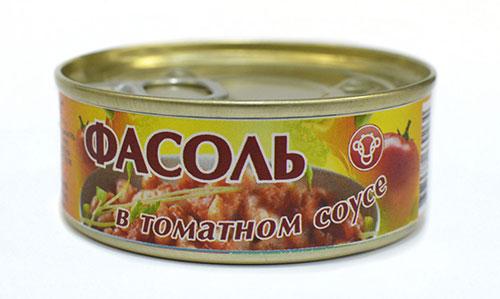 консервированная фасоль