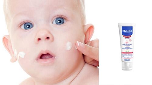 Увлажняющий успокаивающий крем для лица