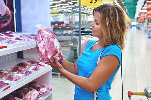 выбор мяса