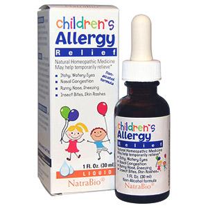 Средство против аллергии для детей с рождения от компании NatraBio