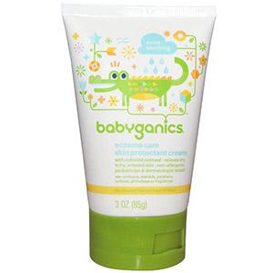 BabyGanics Детский увлажняющий защитный крем против экземы для сухой кожи