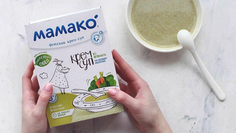 мамако крем-суп для детей