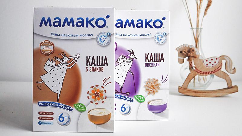 Мамако каша для детского питания